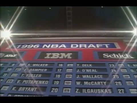 1996 NBA Draft (First Round Picks 1-29)