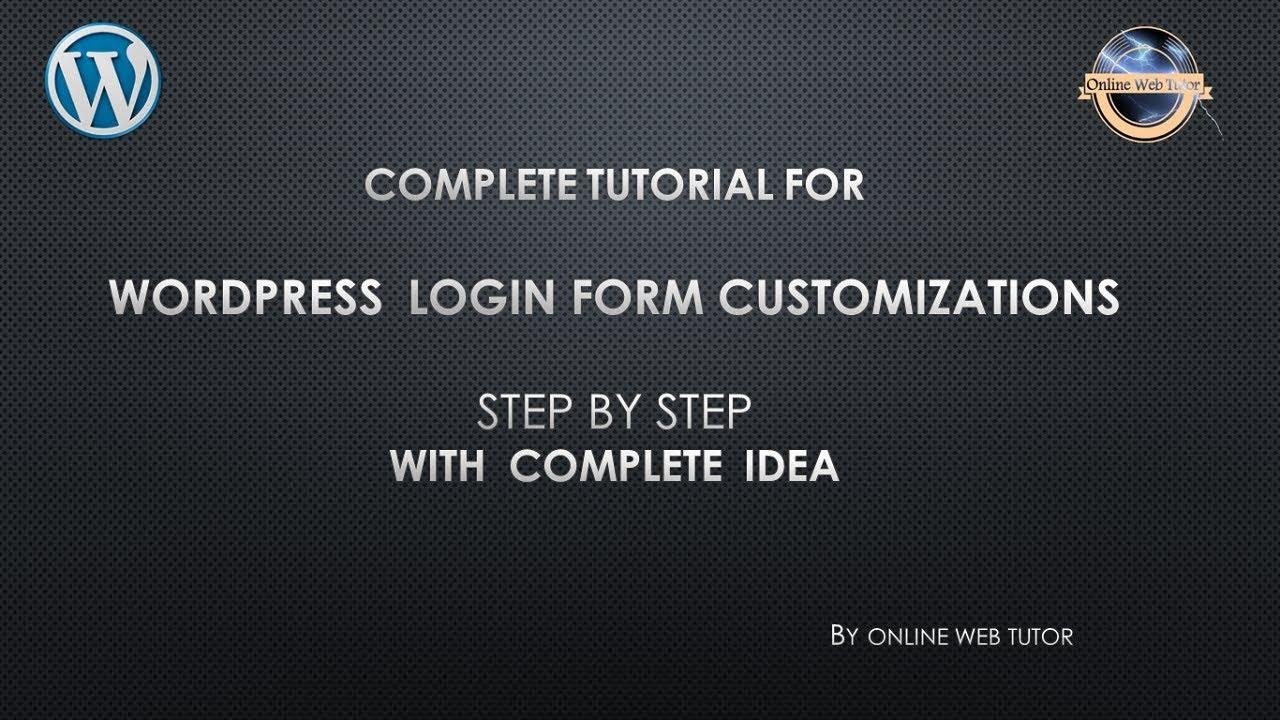 Complete Tutorial For Widget Development In Wordpress For Beginners In 1 Video Widget Development Youtube