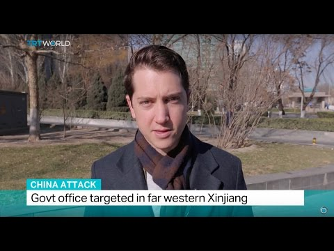 China Attack: Government office targeted in far western Xinjiang