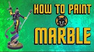 how to paint marble eldar shadowseer part iii kujo painting tutorial