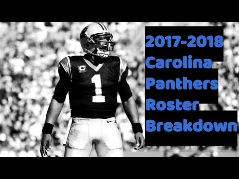 new product c8fab 968b1 2017-2018 Carolina Panthers Roster Breakdown: Madden 18 Rosters