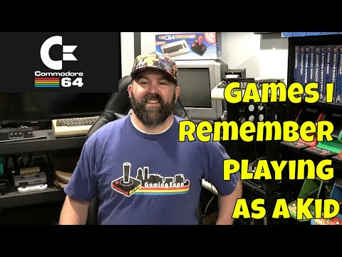Commodore 64 Games I Remember Playing as a Kid