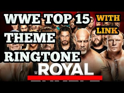 Top 15 wwe Superstar Theme Ringtone| with link