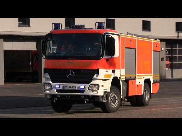 ELW + HLF 20/16 + TLF 20/40-SL Berufsfeuerwehr Kassel Feuer & Rettungswache 1