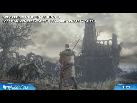 Dark Souls 3 - All +1 Ring Locations (New Game+ Rings)