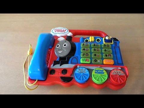 Kindergarten VTECH Thomas The Tank Engine Train Telephone Toy
