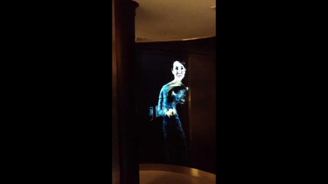 CeBIT 2014 - Real Hologram - Future Technology - YouTube