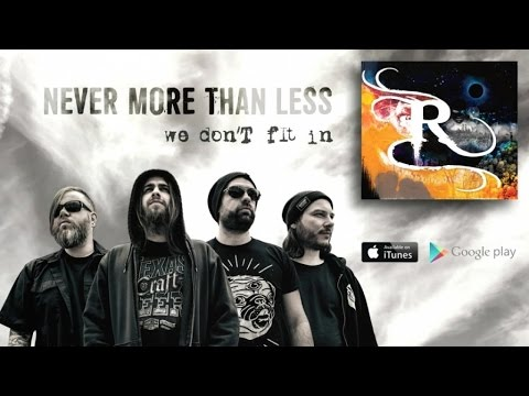 NEVER MORE THAN LESS - We Don't Fit In (Lyric video)