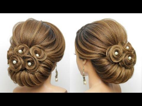 Bridal Updo Tutorial. Wedding Prom Hairstyles For Long Hair thumbnail