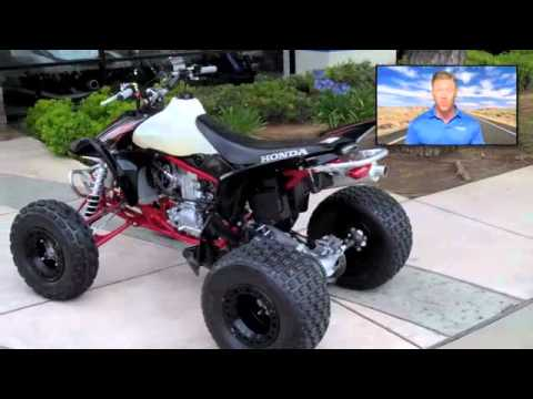2007 Honda TRX 450R - YouTube
