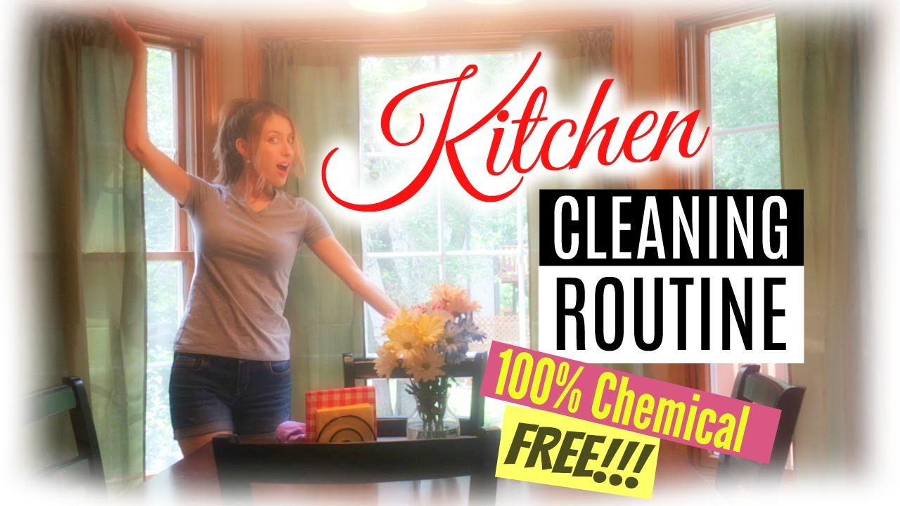kitchen cleaning routine | speed cleaning my house 2017 | zone