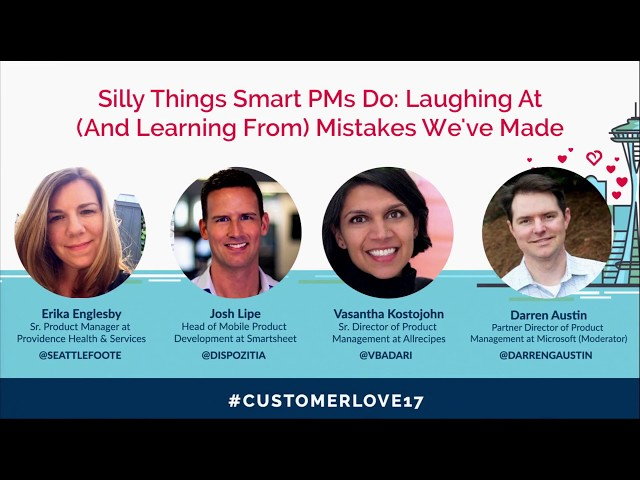 Post for video 'Silly Things Smart PMs Do: Laughing At (and Learning From) Mistakes We've Made
