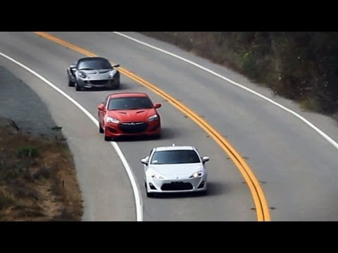 Frs Gt86 Brz Vs Genesis Coupe Lotus Elise Pacific Coast Highway Road Trip Review You