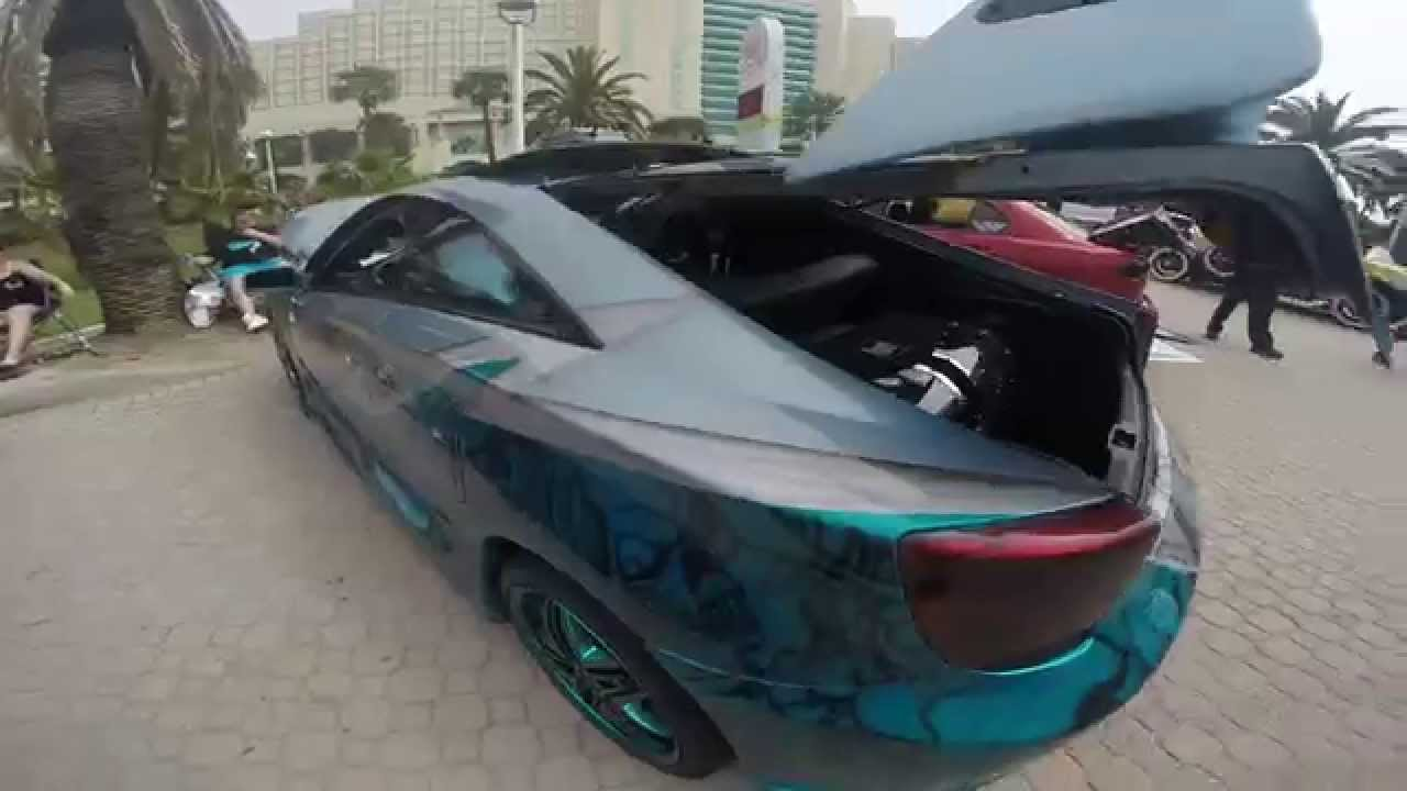 2015 Toyota Celica >> Sbn 2015 Toyota Celica With Crazy Paint Youtube