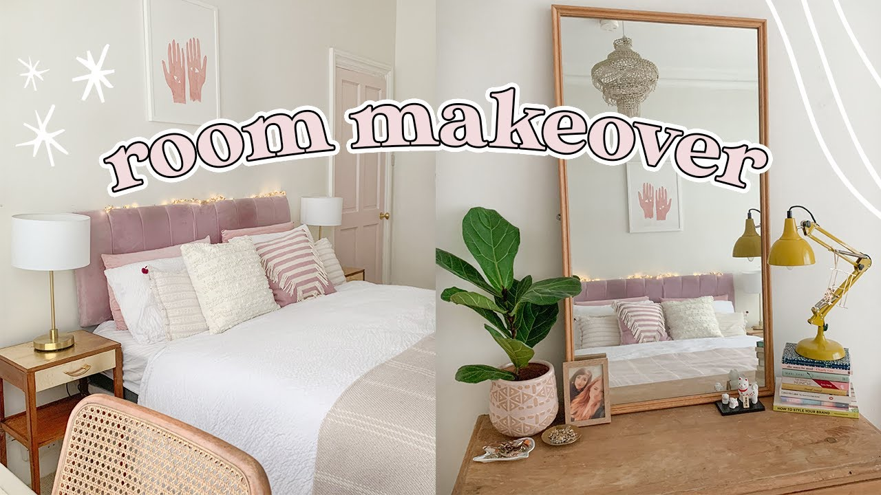 Bedroom Transformation for the New Year 🏡 a 2020 Mini Room Makeover - YouTube