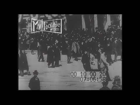1901 President William McKinley Assassinated