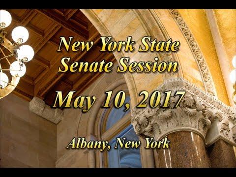 New York State Senate Session - 05/10/17