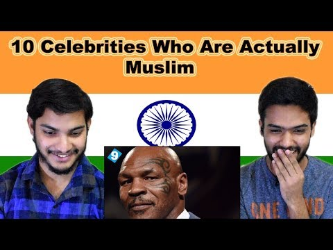 Indian reaction on 10 Celebrities Who Are Actually Muslim | Swaggy d