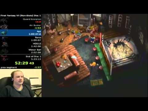 Final Fantasy VII Speedrun Blooper Do You Even Squat Bro YouTube