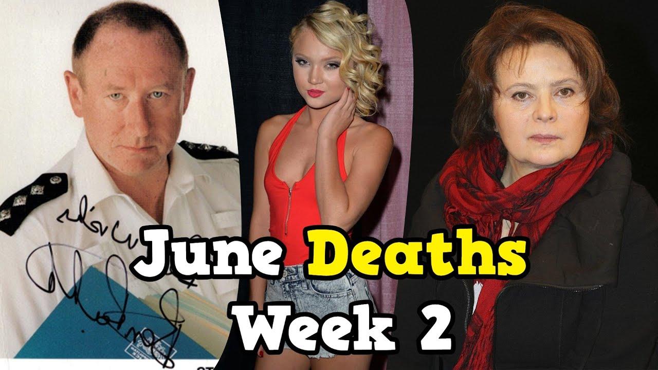 Celebrities Who Died in June 2021 ⭐ Week 2