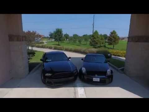 Nissan 350z Vs Mustang V6