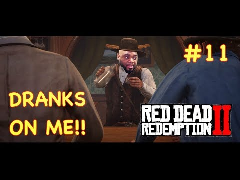 DRANKS ON THE HOUSE | RED DEAD REDEMPTION 2 GAMEPLAY #11 thumbnail