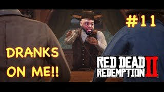 DRANKS ON THE HOUSE | RED DEAD REDEMPTION 2 GAMEPLAY #11