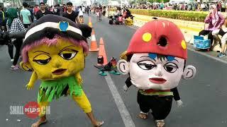 Badut BoboiBoy Joget Viral Entah Apa Yang Merasukimu DJ Remix Boneka Mampang