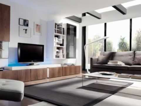 Muebles de salon modernos y de dise o dimode gandia youtube for Salones modernos diseno