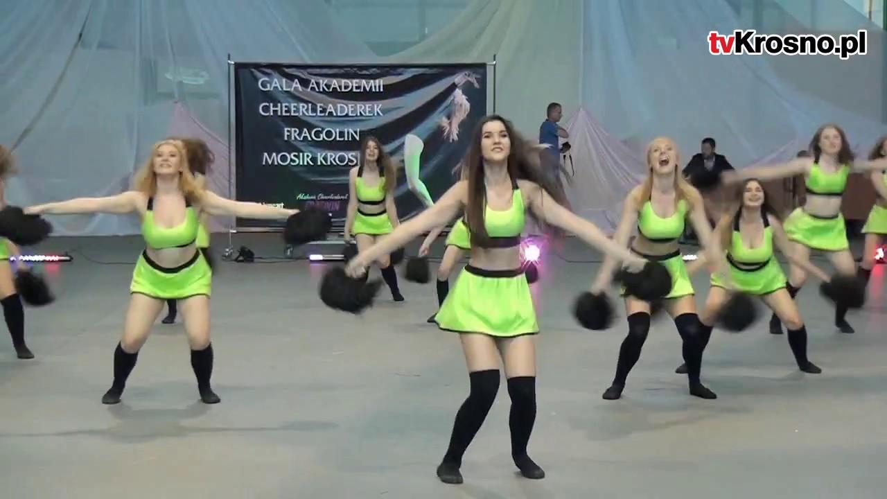 Cheerleaderki z Krosna pokazały klasę! Efektowne akrobacje, wdzięk i zachwycona publiczność