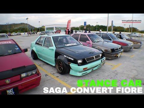 Proton Saga Fiore Aeroback King Stance | Saga Nite Fever Event 2016