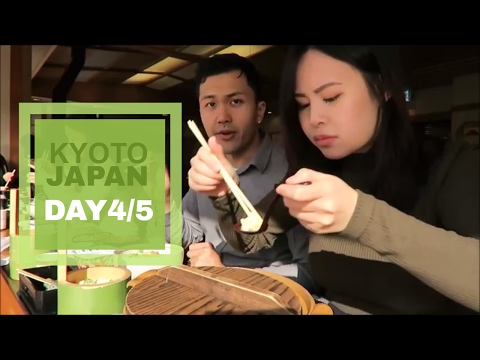 Japan Vlog 4: Kyoto, Wagyu Beef, Claw Machines, & Snow