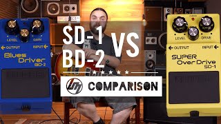 BOSS Super SD-1 Overdrive vs BD-2 Blues Driver - Comparison | Better Music