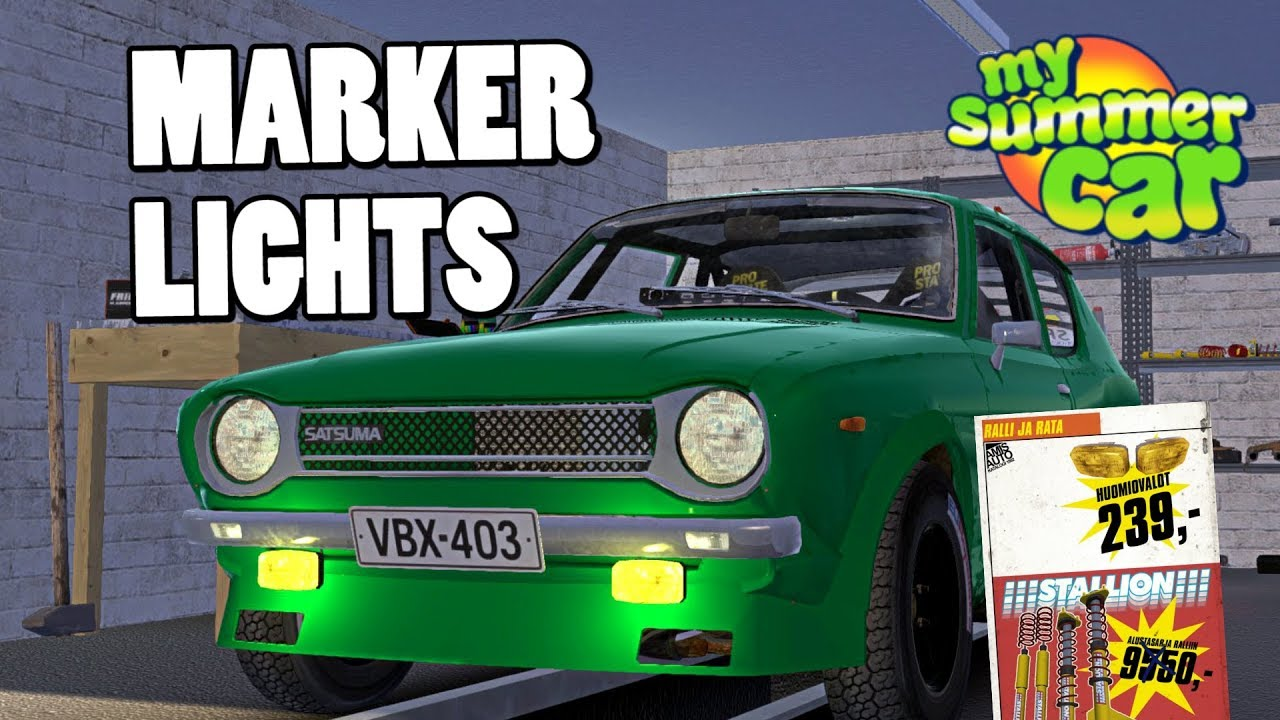 How To Install Marker Lights My Summer Car