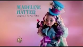 Ever After High - Kitty Cheshire & Madeline Hatter - Way Too Wonderland - Mattel
