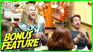 THE AVENGERS (2012) | Filming Schwarma Scene Featurette