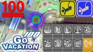 🗝 BUNGEESPRINGEN 💯 (Silberschlüssel) - Wii Go Vacation (Let's Play) #100 [HD+/60FPS] | Zckrfrk