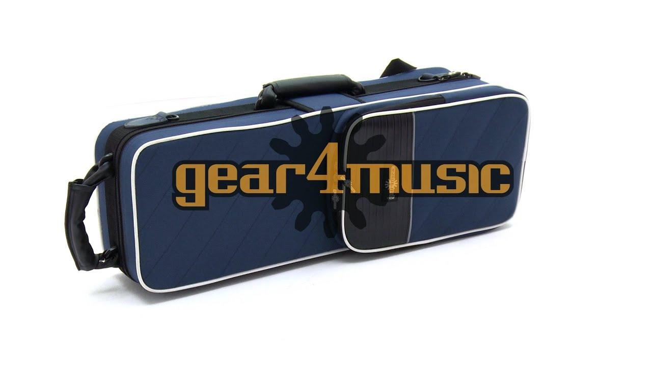 Straight Soprano Sax Hard Foam Case by Gear4music