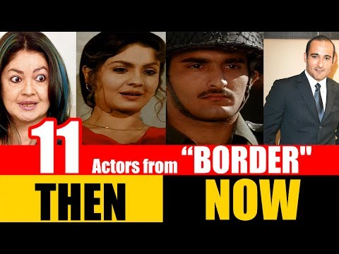 "11 Bollywood Actors from ""BORDER"" 1997 