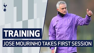 TRAINING | JOSE MOURINHO TAKES HIS FIRST TRAINING SESSION AT SPURS