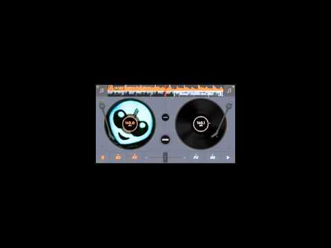 How to mix songs in Edjing App