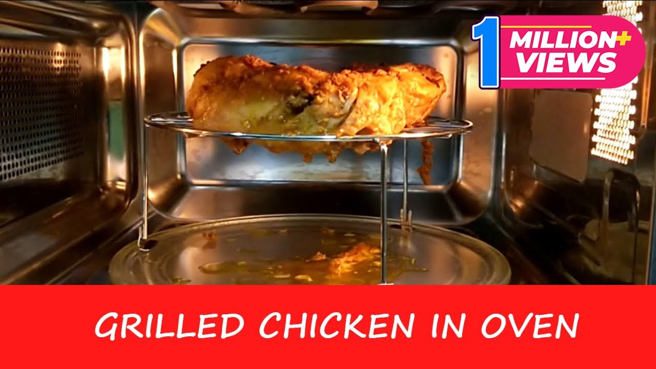 grilled chicken in microwave oven recipe