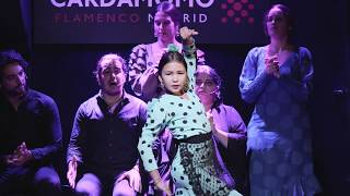 Triana la Canela Taranto • Becas Cardamomo  • Flamenco Madrid • Tablao Cardamomo