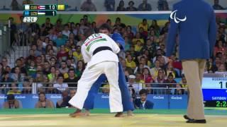 Judo   Cuba v Uzbekistan   Men's -73kg Bronze Medal Contest A   Rio 2016 Paralympic Games