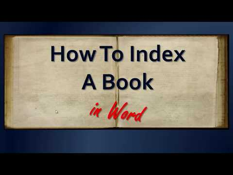 Book Indexing for Authors Webinar learn how to index your own book indie or traditionally published