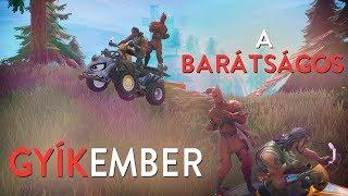 A BARÁTSÁGOS GYÍKEMBER! (Fortnite Battle Royale)