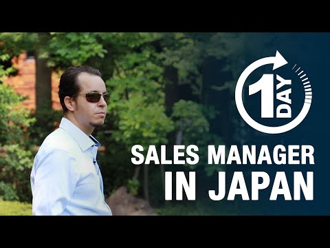 A Day of a Sales Manager in Japan