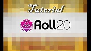 Como jogar RPG On-line/Tutorial Roll20
