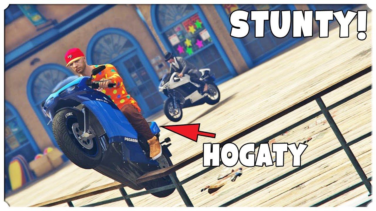 """GTA Online – STUNTY """"Mapa wstydu 2"""" /Hogaty"""