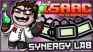 The Binding of Isaac: Afterbirth - Synergy Lab: ULTIMATE TECH X!